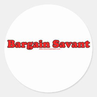 Bargain Savant Stickers