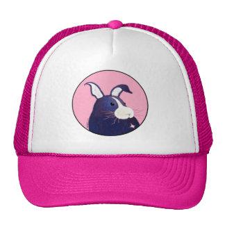 BargasArtwork Big Blue Bunny Hat