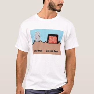 BargasArtworks Groundhog vs Ground Beef Shirt