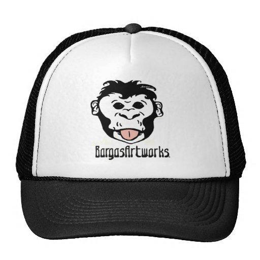 BargasArtworks Monkey Logo Hat