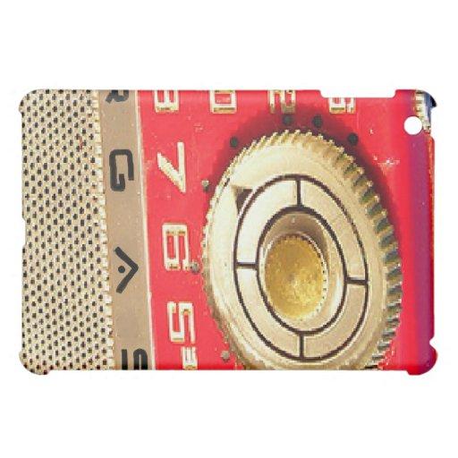 BargasArtworks Vintage Radio iPad Case