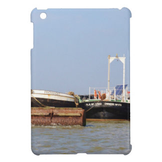 Barges On The River Thames Case For The iPad Mini