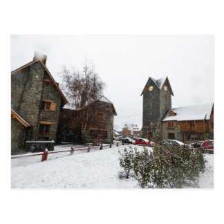 Bariloche Civic Center, Patagonia Argentina Postcard