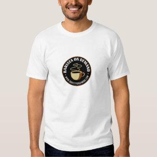 Barista on Demand Sustainable T Shirt