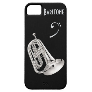 Baritone Horn in Silver Case For The iPhone 5