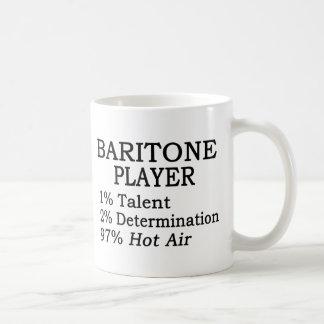 Baritone Player Hot Air Basic White Mug