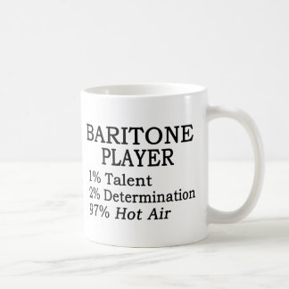 Baritone Player Hot Air Coffee Mug