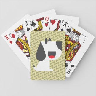 Bark Bark (Yellow) - Playing Cards