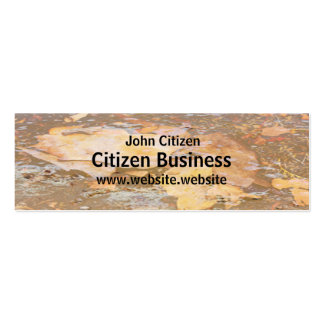 Bark in water close up texture pack of skinny business cards
