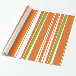 Bark-O Lounge stripe wrapping paper