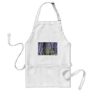 Bark Of Ancient Redwood Trees Apron