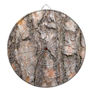 Bark of Scotch pine tree as background Dartboard