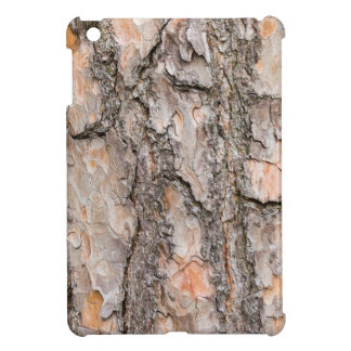 Bark of Scotch pine tree as background iPad Mini Cover