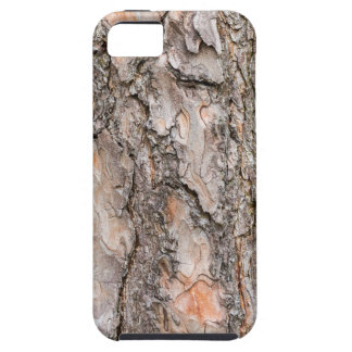 Bark of Scotch pine tree as background iPhone 5 Cases