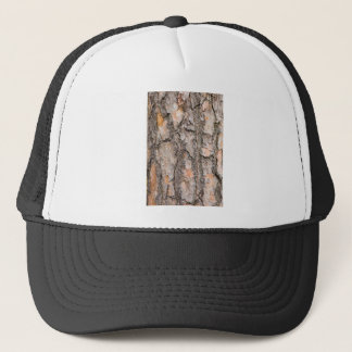 Bark of Scotch pine tree as background Trucker Hat