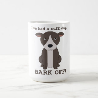 Bark Off Man Coffee Mug