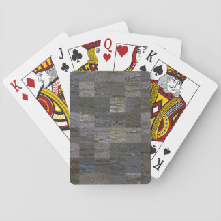 Bark Tiles Playing Cards