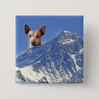 Barky: Large Doesn't Cover It 15 Cm Square Badge