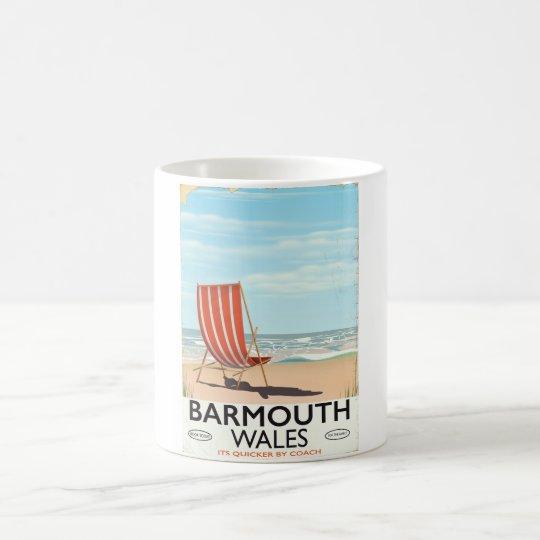 Barmouth North wales vintage travel poster Coffee Mug