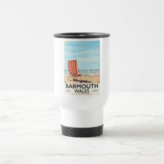 Barmouth North wales vintage travel poster Travel Mug