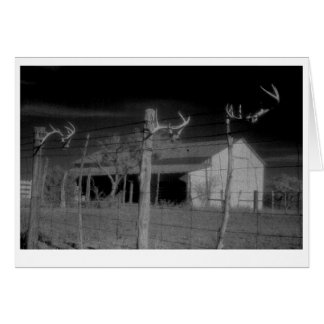 """""""Barn and Antlers"""" Card"""