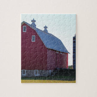 Barn and Silo Jigsaw Puzzle