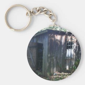 Barn Annex Shed Key Ring