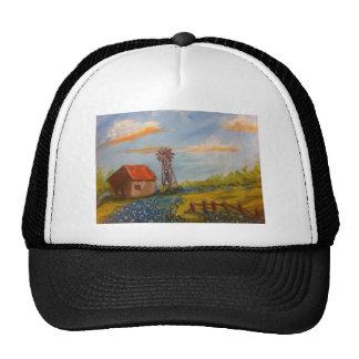 Barn & Bluebonnets Trucker Hat