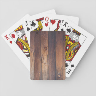 BARN BOARD PLAYING CARDS