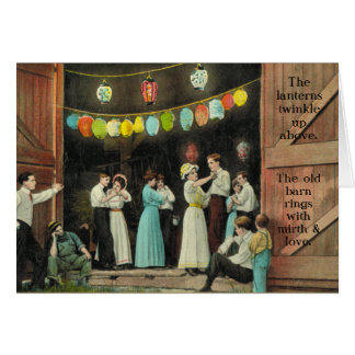 Barn Dance-Great for party inivite or thank you Card