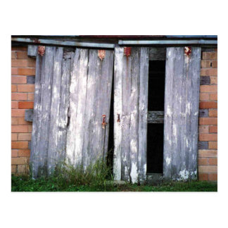 Barn Doors Old Buildings Barns Photo Postcard
