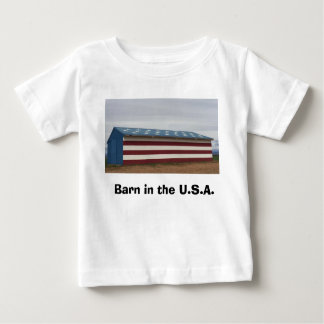 Barn in the U.S.A. Baby Shirt