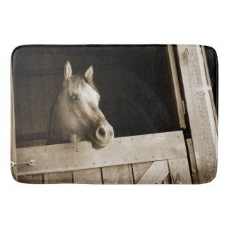 Barn lit Horse Bath Mat