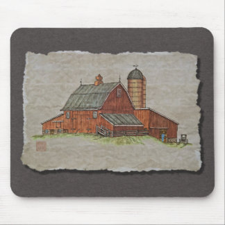 Barn & Livestock Chute Mouse Pad