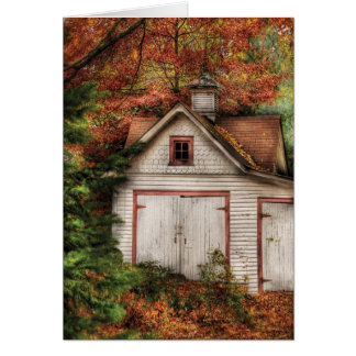 Barn - Our old shed Card