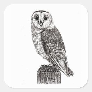 Barn Owl 2 Stickers