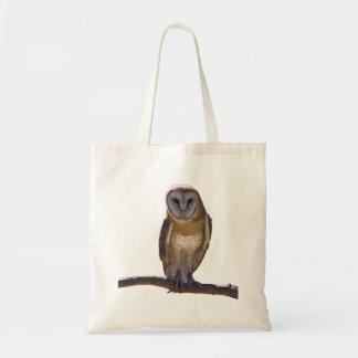 Barn Owl Budget Tote Bag