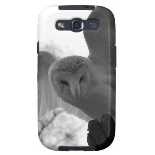 Barn Owl Galaxy SIII Cases