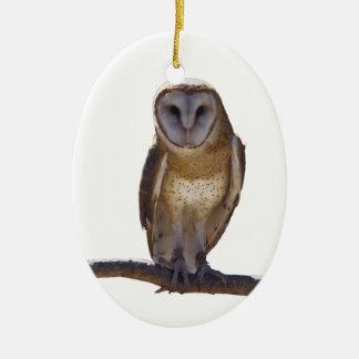 Barn Owl Christmas Ornaments
