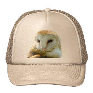 Barn Owl Head Shot Cap