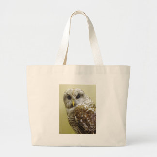 Barn Owl Large Tote Bag