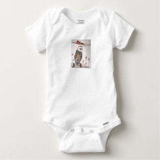 Barn Owl on the hunt Baby Onesie