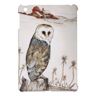 Barn Owl on the hunt iPad Mini Case