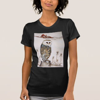 Barn Owl on the hunt T-Shirt