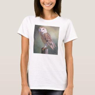 """Barn Owl Painting women's tee"