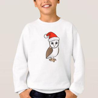 Barn Owl Santa Sweatshirt