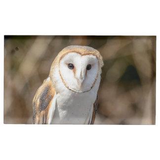 Barn Owl Table Card Holder