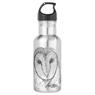 Barn Owl Water Bottle 532 Ml Water Bottle