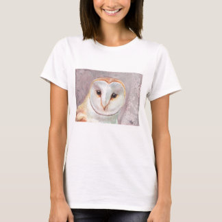 Barn Owl watercolor tee