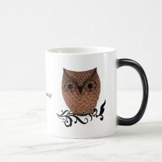 Barn Owl Whimsical Country Mug